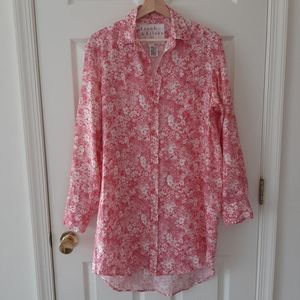 Frank & Eileen Floral Mary Shirtdress Size Small